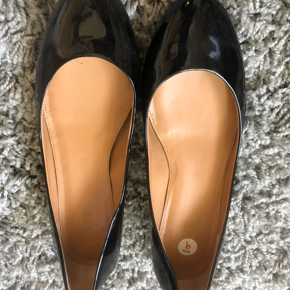 J. Crew Shoes - JCrew patent leather shoes